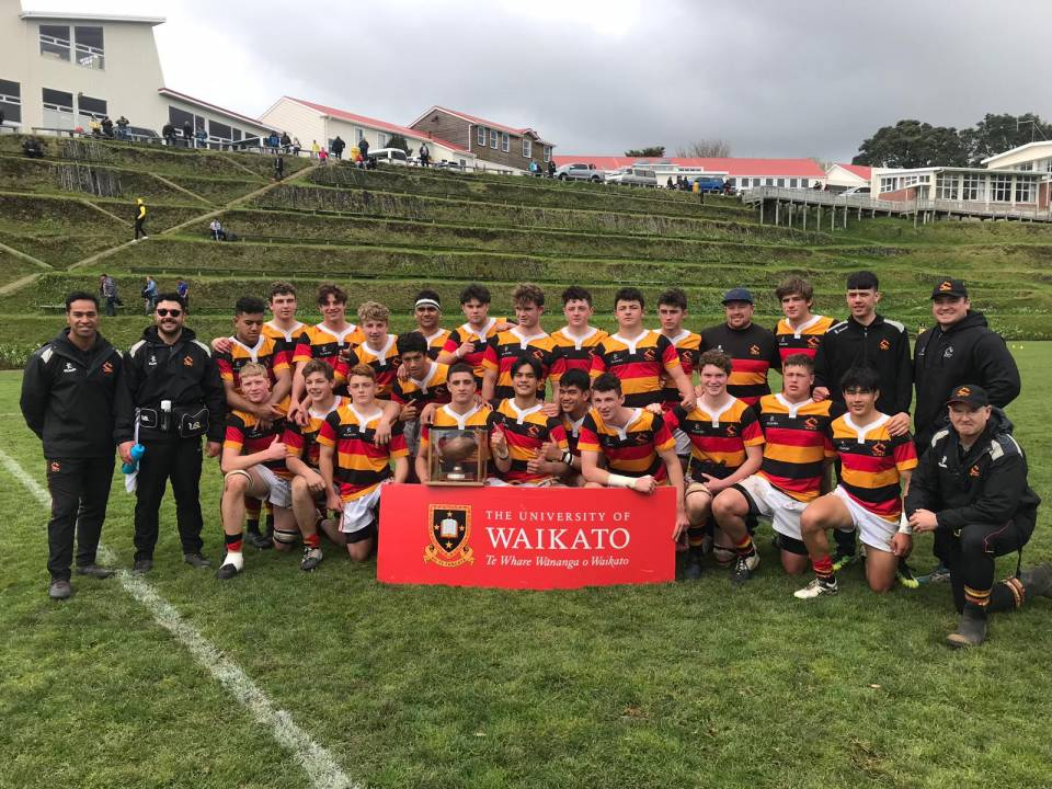 Waikato win University of Waikato Chiefs Region Under 16 Tournament