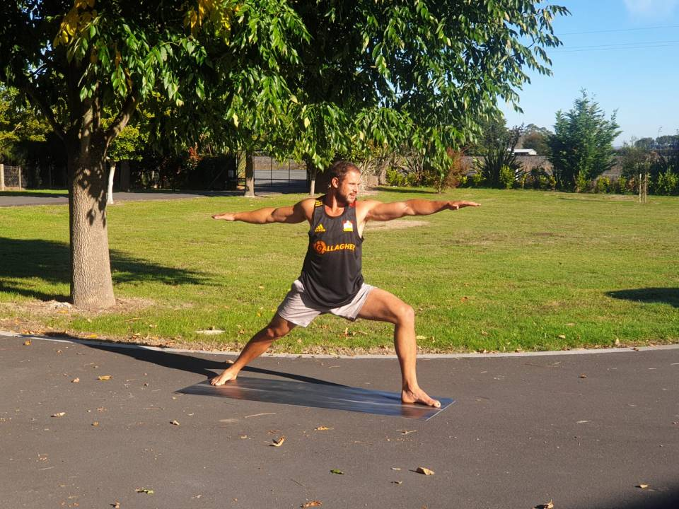 Tyler Ardron's Wellbeing fix – Yoga
